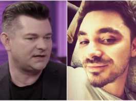 Zenek i Daniel Martyniukowie.