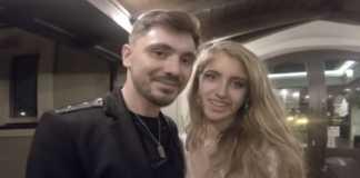 Daniel Martyniuk i żona