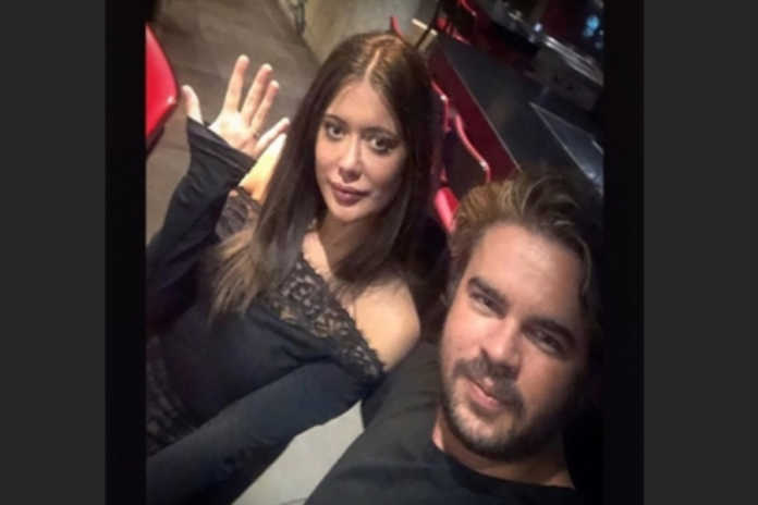 Miriam Shaded z pierścionkiem na palcu i James Warwick/fot. prnt screen Instagram miriamshaded