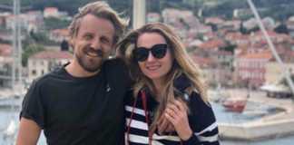 Paweł Domagała z żoną fot. instagram.com/paweldomagala