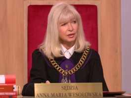 Sędzia Anna Maria Wesołowska fot. screen youtube.com/tvnpl