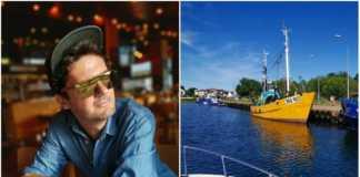 Kuba Wojewódzki i jego jacht fot. Instagram.com/Kuba_Wojewodzki_Official