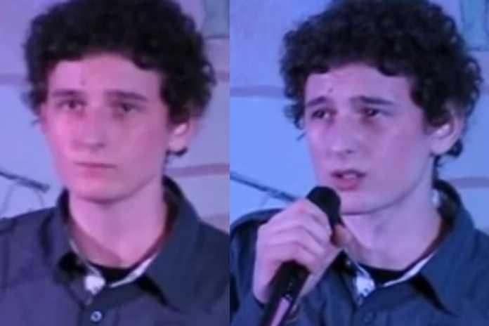 16-letni Dawid Podsiadło. Foto: Youtube