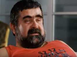 Janusz Rewiński fot. screen film Kiler