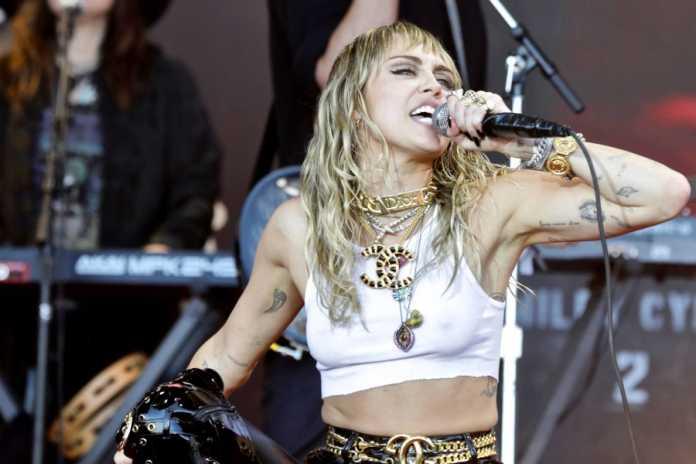 Miley Cyrus/Fot. PAP