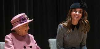 Królowa Elżbieta i Księżna Kate/ Fot.Instagram