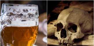 Piwo, czaszka fot. publicdomainpictures.net