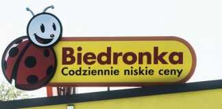 Biedronka Foto: PAP/Grzegorz Michałowski