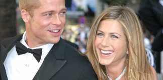 Brad Pitt i Jennifer Aniston/Fot. PAP