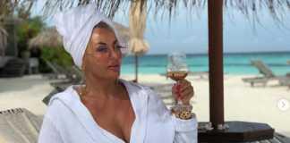 Dagmara Kaźmierska na wakacjach
