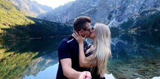 Dawid Narożny z nową partnerką