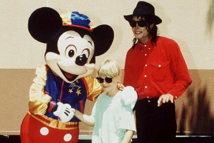 Macaulay Culkin i Michael Jackson. Foto: PAP/Retna