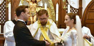 Krzysztof Bosak, kandydat na prezydenta z Konfederacji wziął ślub. Foto: Krzysztof Bosak