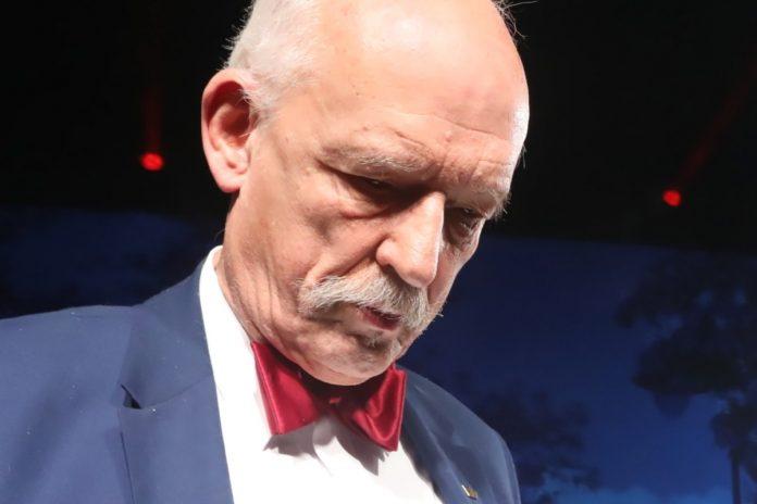 Janusz Korwin-Mikke. Foto: PAP
