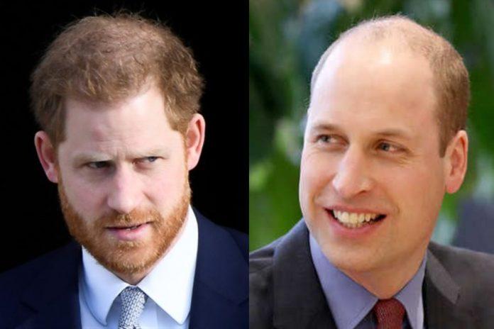 Książę Harry obawia się, że będzie łysy jak brat William. Foto: PAP/ Facebook