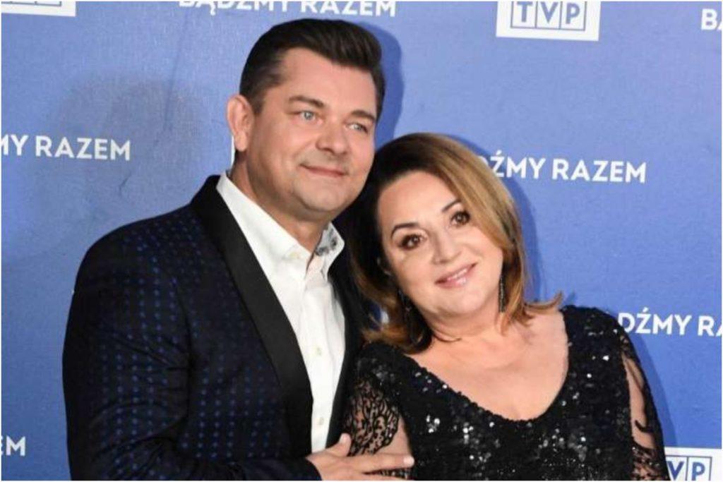 Zenon Martyniuk wraz z żoną Danutą. Foto: PAP