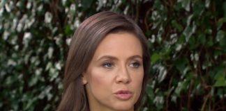 Kinga Rusin dba o swoje bezpieczeństwo. Czyżby gwiazda bała się o swoje zdrowie? Foto: print screen z YouTube/Magazyn Gala