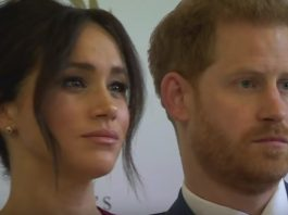 Meghan i Harry Foto: print screen z YouTube/Murky Meg