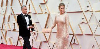 Tom Hanks i Rita Wilson. Foto: PAP