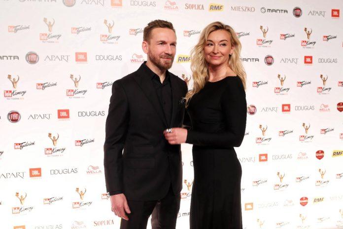 Przemek Kossakowski i Martyna Wojciechowska. Foto: PAP