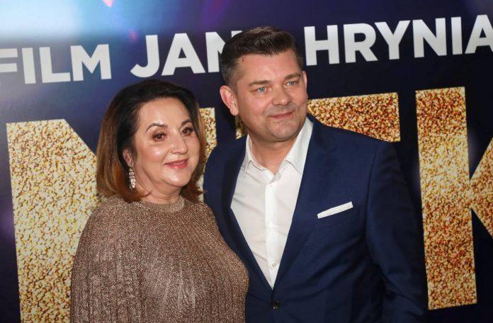 Danuta Martyniuk z mężem Zenkiem. Foto: PAP